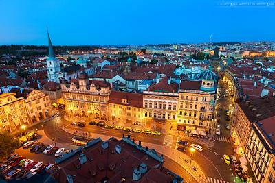 Difficult light in Prague