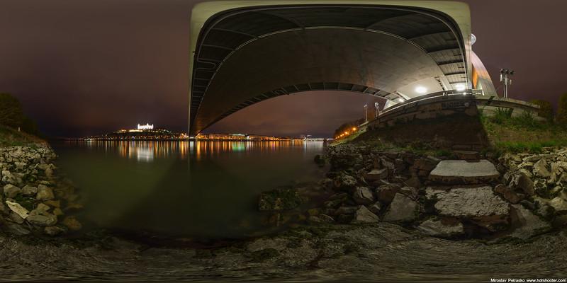 Bratislava - Under SNP bridge 360