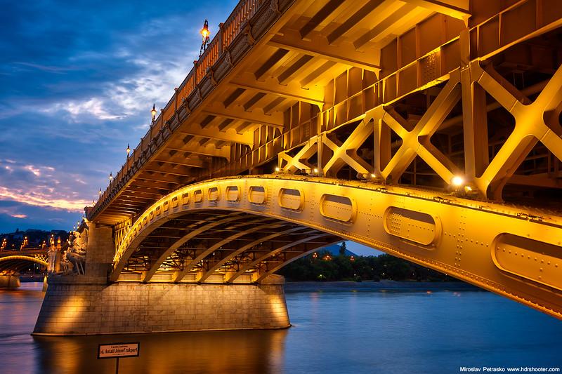 Close to the bridge