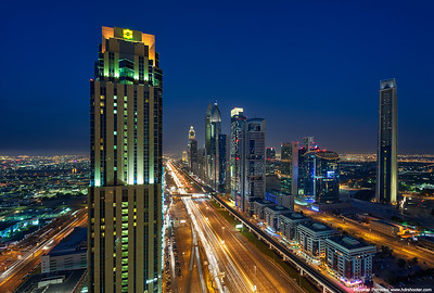 On the Sheikh Zayed Road