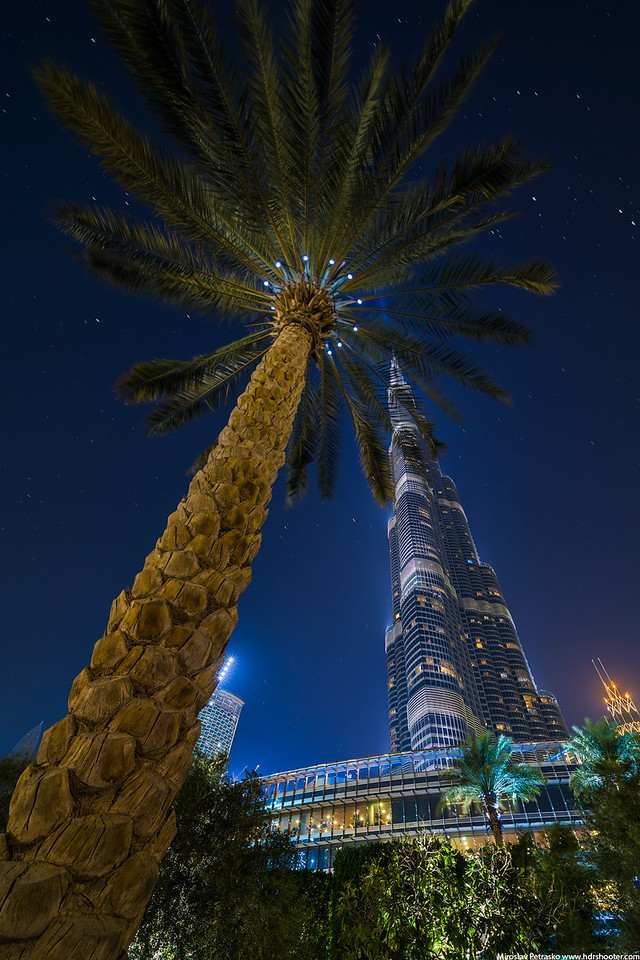 Under the Burj Khalifa, Dubai, UAE