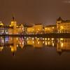 Prague in yellow