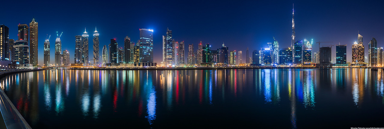 Business bay in Dubai, UAE
