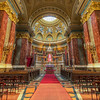 <h2>St. Stephen's Basilica</h2> How much detail can you have in one photo? Looks like there are no limits to it. There are almost no single color areas in this shot. Everything has a texture to it.
