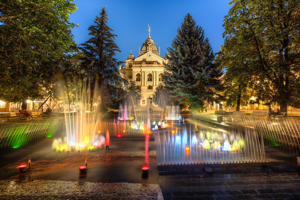 Singing Fountain in Kosice A really nice place to have a lovely relaxing moment.