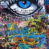 <h2>Eye on the wall</h2> One more from the John Lennon wall (I will maybe add some more ). I just love all the colors you can get in one photo here.