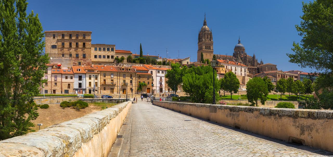 Sunny day in Salamanca, Spain