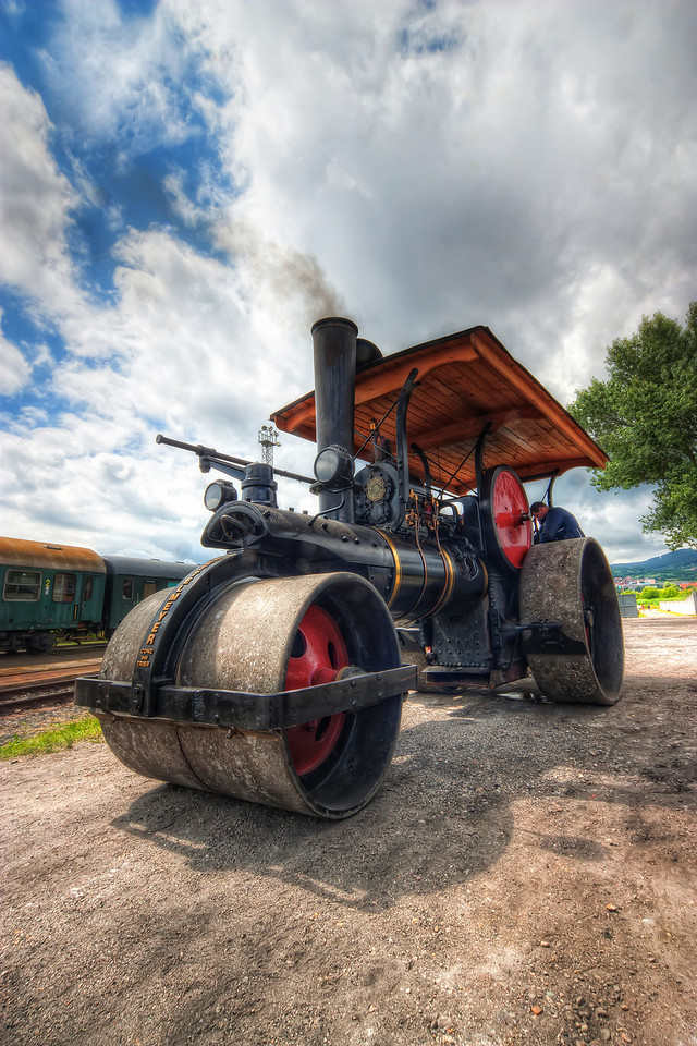 Running on Steam