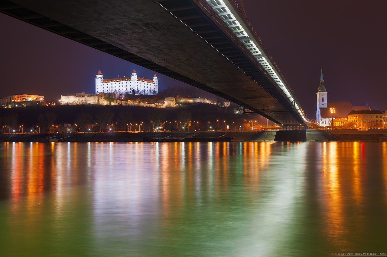 From under the bridge