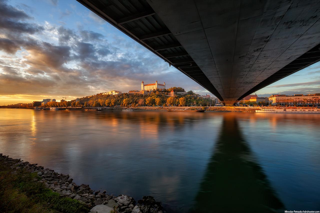 Autumn light, Bratislava, Slovakia