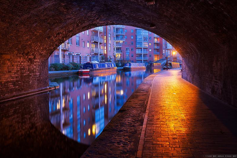 Tunnel reflection in Birmingham