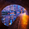 Tunnel reflection in Birmingham