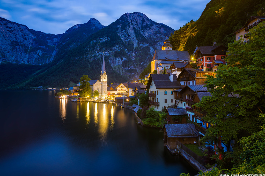 Not a winter photo from Hallstatt