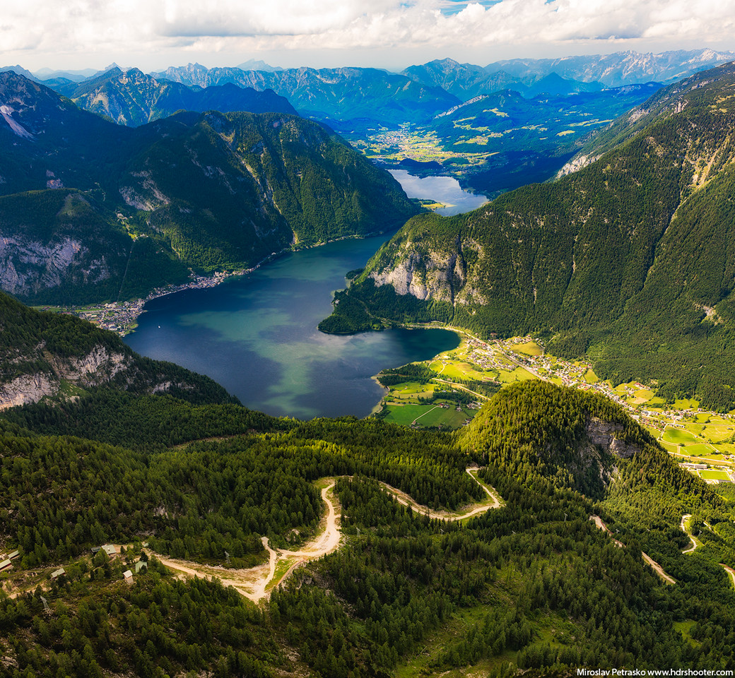 The 5 fingers view, Austria