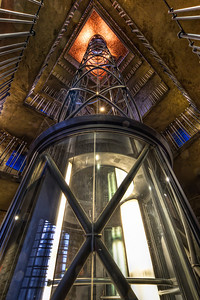 Space Elevator  This really reminds me of a sci-fi movie. But it still fits quite nicely into the Prague Old town hall. It's a great combination of old and new.  HDR from three shots, taken with Canon 7D with Sigma 10-20mm lens, from a tripod.