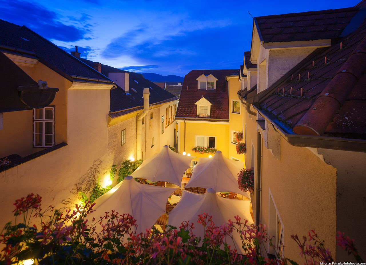 Back alley view, Melk, Austria