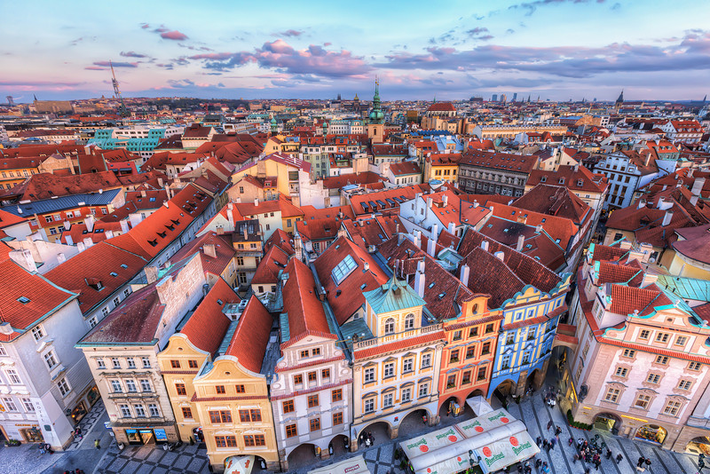 The colorful Prague Can there be so much color in one city? I think it can :)