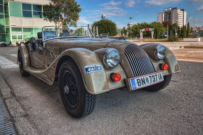 Veteran  Another stunning old beauty :) I would love to drive one of these one day :) Maybe someday ...  HDR from three shots, taken with Canon 450D with Sigma 10-20mm lens, handheld.
