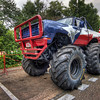 Monster truck<br /> <br /> Not many possibilities to see monster trucks in Slovakia. So when there were some in Bratislava in the summer I went to take few photos. The weather was quite bad, with a ugly grey sky, so I includes only a little bit of it :)<br /> <br /> HDR from three shots, taken with Canon 450D with Sigma 10-20mm lens, from a tripod.