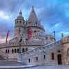 <h2>Fisherman's Bastion</h2> Too bad it was closed, but still it looked like a fairy tale castle.