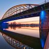 Sunset at the John Frost bridge