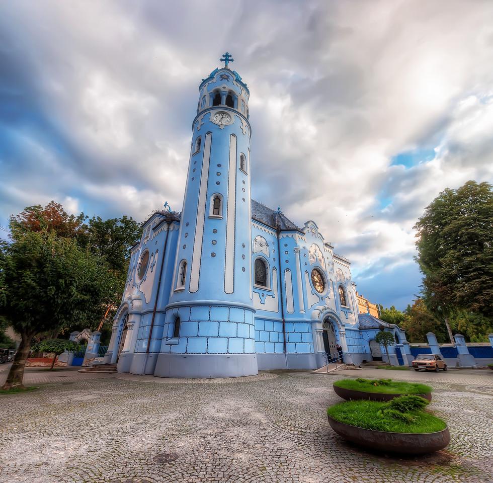 Blue Church Bratislava The Blue Church