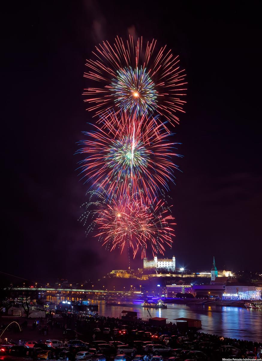 More fireworks over Bratislava