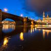 Hofkirche reflection