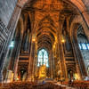 More from Liverpool Cathedral<br /> <br /> I really regret I didn't take more exposure than three. Anybody working at Canon? We need more than three shots on AEB :). Well I always learn from my mistakes. Next time I take at least nine :)<br /> <br /> HDR from three shots, taken with Canon 450D with Sigma 10-20mm lens, from a tripod. Photo taken at the Liverpool Cathedra in Liverpool.