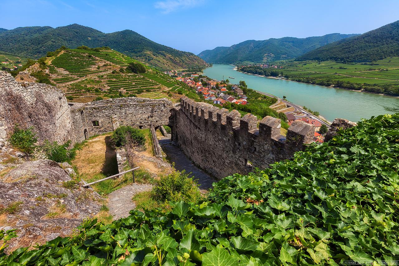 Castle walls