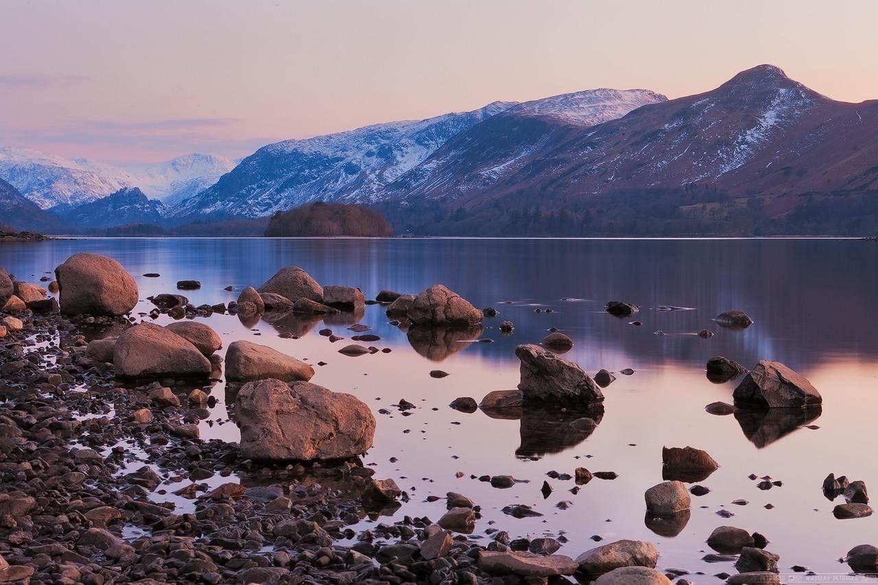A very calm Derwent water