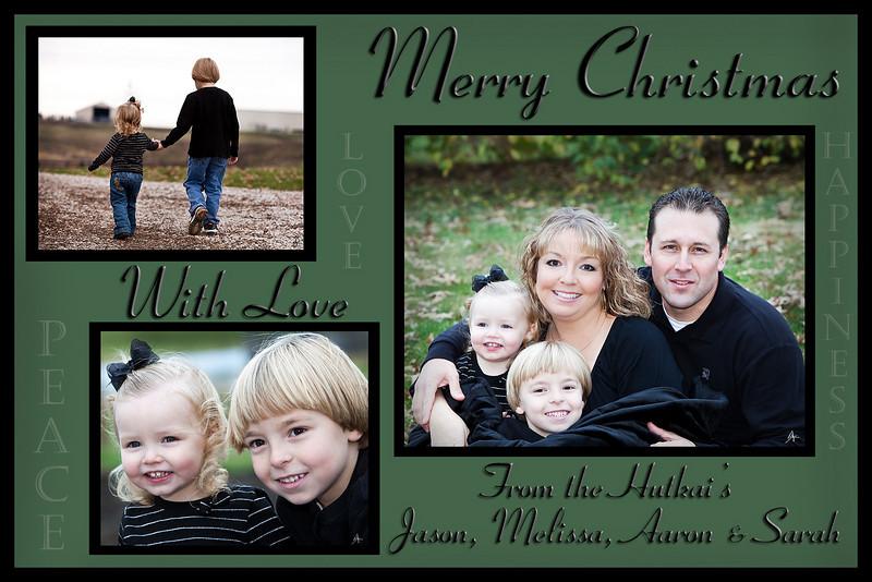 hutkai christmas card
