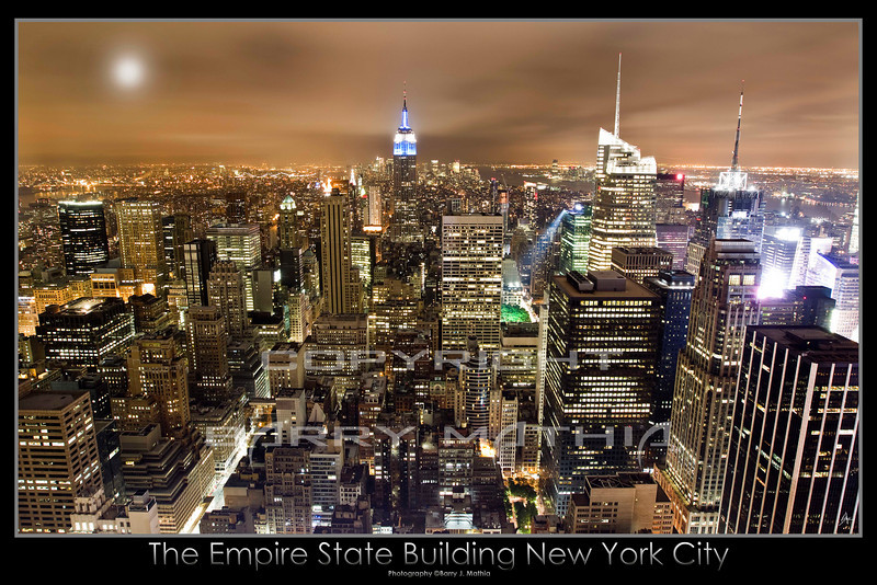 Empire State Copyright Barry Mathia