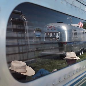 Airstreams visit Mansfield