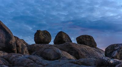 Pre-dawn, Alabama Hills, Lone Pine, CA