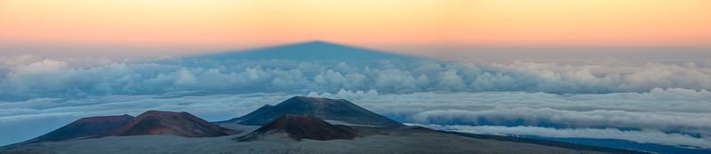 Mauna Kea's shadow, Hawai'i, HI
