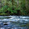 Stream at Wallas Falls