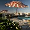 Poolside Umbrellas