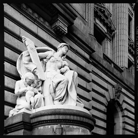 Sculpture at Cleveland's Old Fedreral Court House