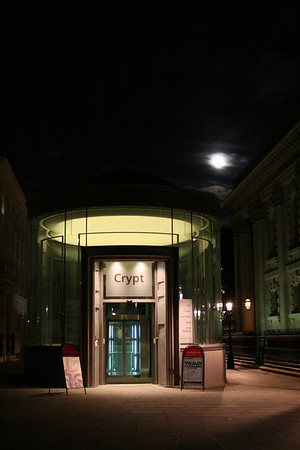 St Martin in the Fields - the new Crypt Entrance