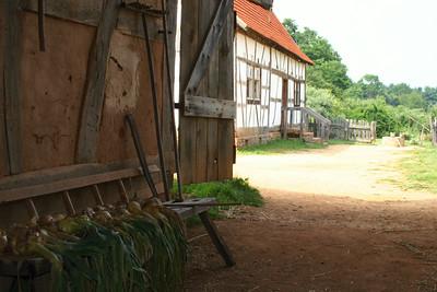 German Farm. Frontier Culture Museum, Virginia