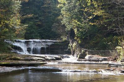 Enfield Creek, Treman State Park, New York.
