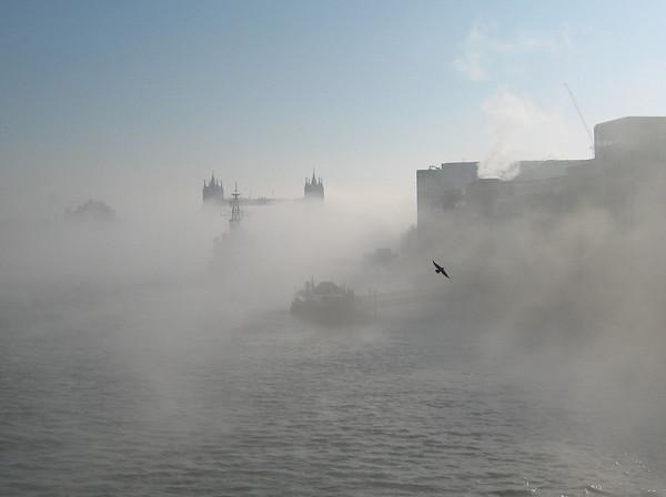 Mist over the Thames