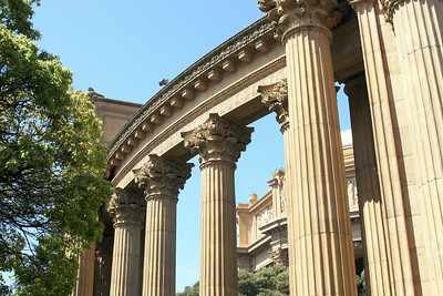 Palace of Fine Arts Collonades.