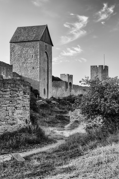 Visby's medieval wall - east side trail