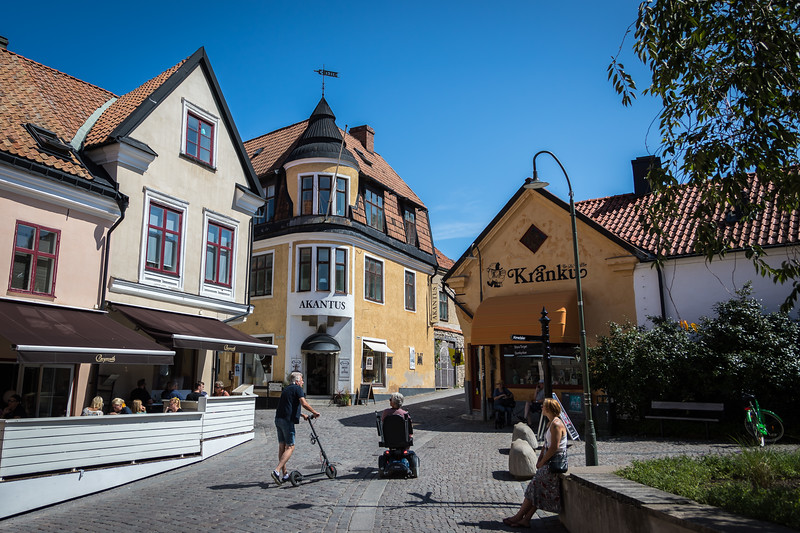 Old town streets