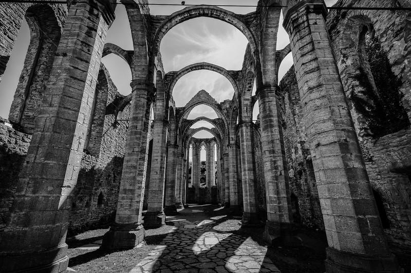 Sankta Karin church ruins III