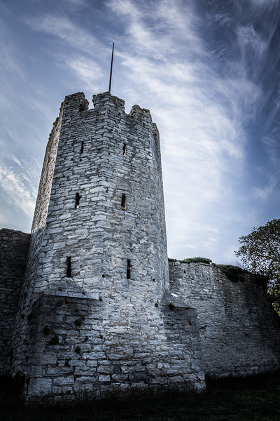 Visby's defence tower