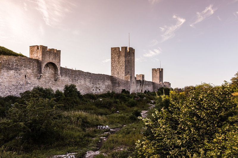 Sunset over Visby