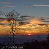 Sunset Cherohala Parkway